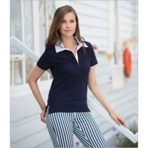 FR78 Front Row Ladies Short Sleeve 'Stretch' Rugby Shirt
